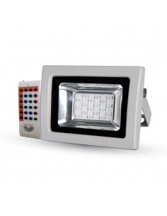 LedOne 10W Proiector LED SMD RGB cu RF Telecomanda Megazin Online Pret Ieftin