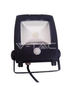 LedOne 10W Proiector LED V-TAC New Design cu senzor Alb Cald 3000K Megazin Online Pret Ieftin