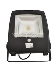 LedOne 30W Proiector LED V-TAC New Design cu senzor Alb Rece 6000K Megazin Online Pret Ieftin