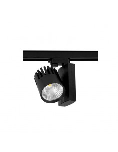 LedOne 50W Proiector LED Sina 4 circuite Flicker Free Corp Negru 3000K Megazin Online Pret Ieftin
