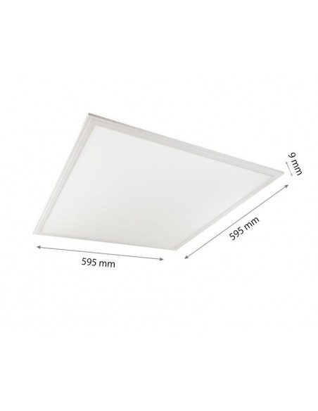 40W Panou LED Baie 60x60 3600lm Slim IP44 Alb Natural 4000K