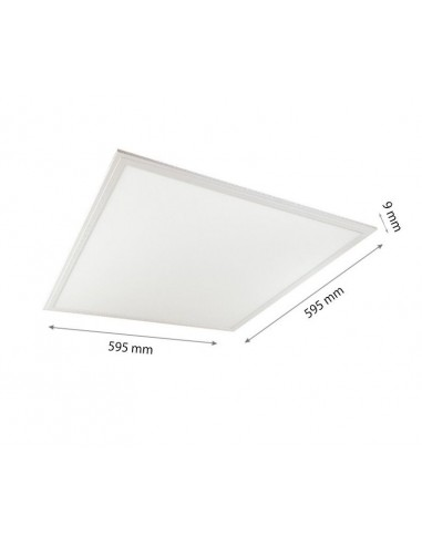 40W Panou LED Baie 60x60 3600lm IP44 Alb Natural