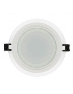LedOne 18W Panou LED de sticla, incastrabil, rotund, SMD2835, IP44, lumina neutra Megazin Online Pret Ieftin