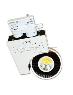 LedOne 23W Lampa LED COB Pe Sina EuroTrack Alb Neutral 5000K Megazin Online Pret Ieftin