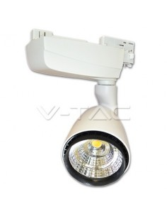 LedOne 25W Lampa LED COB Pe Sina EuroTrack Alb Cald 3000K Megazin Online Pret Ieftin